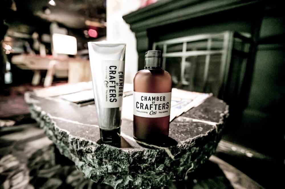 薄毛よりもモテに影響する♡男のための新グルーミングブランド『CHAMBER OF CRAFTERS』